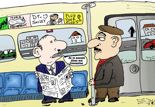Cartoon: Metro Limo BD Financier (medium) by BinaryOptions tagged option,binaire,options,binaires,trade,trader,trading,train,limousine,optionsclick,caricature,nouvelles,news,infos,actualites,financier,comique,webcomic