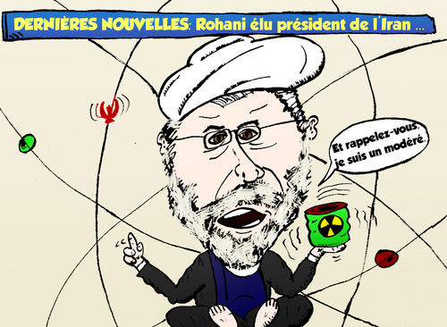 Cartoon: President Elu Rohani Caricature (medium) by BinaryOptions tagged option,binaire,optionsclick,options,binaires,rohani,president,elu,iran,iranien,caricature,politique,politicien,trader,trade,trading,tradez,energie,nucleer,nucleaire,atomique,puissance,pouvoir,reformiste,modere,news,editorial,infos,nouvelles,actualites,webcomic