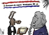 Cartoon: animaux politique caricature (small) by BinaryOptions tagged optionsclick,option,binaire,options,binaires,politique,ane,elephant,democrat,republicain,editorial,infos,nouvelles,news,actualites,caricature,comique,webcomic