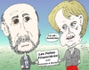 Cartoon: Caricature de Merkel et Bernanke (small) by BinaryOptions tagged ben,bernanke,angela,merkel,caricature,dessin,comique,comics,optionsclick,trader,trading,tradez,follies,financier,financieres
