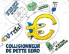 Cartoon: Collisionneur de dette Euro (small) by BinaryOptions tagged option,binaire,options,binaires,trading,trader,euro,dette,eur,collisionneur,caricature,optionsclick