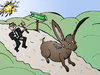 Cartoon: G8 Hunts Hare to Dublin Cartoon (small) by BinaryOptions tagged binary,options,option,news,trade,trader,trading,hare,hunt,dublin,g8,optionsclick,business,economics,economies,economy,politics,geopolitics,political,geopolitical,financial,editorial,caricature,cartoon,comic,webcomic