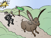 Cartoon: Le G8 et la chasse en Irlande (small) by BinaryOptions tagged optionsclick,option,binaire,options,binaires,trading,trader,trade,lapin,lievre,news,infos,nouvelles,actualites,finances,economies,economique,affaires,politique,g8,dublin,irlande,caricature,comique,webcomic,satire,chanson
