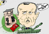 Cartoon: Recep Erdogan Caricature (small) by BinaryOptions tagged optionsclick,option,binaire,options,binaires,erdogan,turc,turque,turquie,istanbul,taksim,tank,caricature,news,infos,nouvelles,actualites,politique,politicien,editoriale