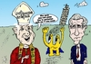 Cartoon: Three caricatures in Italy (small) by BinaryOptions tagged binary,option,options,optionsclick,trade,trader,trading,pope,benedict,caricature,euroman,cartoon,mario,monti,italian,italy,news,politics,political,politician,editorial,webcomic,comic