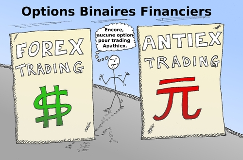 Cartoon: Trading Apathiex - pas un option (medium) by BinaryOptionsBinaires tagged apathiex,antiex,forex,yuan,usd,caricature,optionsclick,binaires,options,trader,binaire,option,trading
