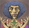 Cartoon: Arthur Lee-Love (small) by wambolt tagged caricature,rock,sixties,music