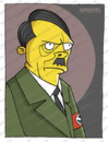 Cartoon: A.Hitler (small) by gamez tagged adolf