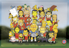 Cartoon: FCB players with Simpsons (small) by gamez tagged the,simpsons,fc,bayern,felix