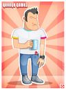 Cartoon: GeorgeGamez (small) by gamez tagged gamez,george,gg,ggg