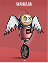 Cartoon: heartEATer (small) by gamez tagged haert eat eye red dark