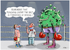 Cartoon: Boxing challenge (small) by Ridha Ridha tagged boxing,challenge,corona,scientist,ridha,cartoon
