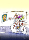 Cartoon: Cycling (small) by Ridha Ridha tagged cycling,sport,cartoon,ridha,art,from,erotic,book,viva,eva,published,1994,in,germany