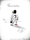 Cartoon: CR7 (small) by Carlo Büchner tagged uefa,champions,league,2014,christiano,ronaldo,fußball,football,soccer,real,madrid,posing,cr7,weltfußballer,portugal,wm2014,cartoon,gag,satire,humor,zeichnung,comedy,carlo,büchner,arts