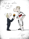 Cartoon: Mertesacker im Interview (small) by Carlo Büchner tagged wm2014,carlo,büchner,arts,deutschland,interview,sieg,mannschaft,satire,cartoon,zeichnung,comic,humor,spaß,fun,boris,buechler,zdf,achtelfinale,viertelfinale,mertesacker,parody,brasilien,südamerik,algerien,geralg