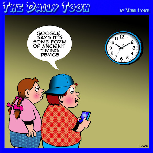 Cartoon: Google (medium) by toons tagged clocks,google,timing,device,gen,search,engine,antiques,clocks,google,timing,device,gen,search,engine,antiques