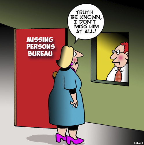 Cartoon: Missing persons (medium) by toons tagged missing,persons,lost,missing,persons,lost