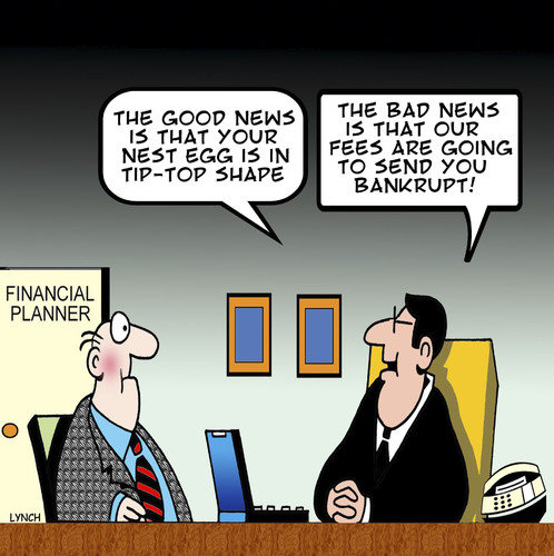 Cartoon: Tip Top (medium) by toons tagged bankrupt,poor,financial,advice,accountant