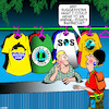 Cartoon: Animal rights (small) by toons tagged environmentalist,animal,rights,activist,shirt,shop,save,the,planet