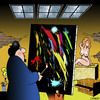 Cartoon: Artistic licence (small) by toons tagged artist,painter,model,arts,portrait,nude