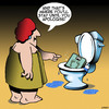 Cartoon: Bathroom scales (small) by toons tagged bathroom,scales,arguements,apologising,say,sorry,obesity,fat,overweight,weighing,yourself