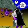 Cartoon: Batman (small) by toons tagged super hero bats caves vampires batman comic book family children love