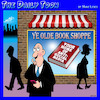 Cartoon: Book shop (small) by toons tagged social,media,books,book,shop