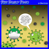 Cartoon: Coronavirus (small) by toons tagged surgical,mask,covid,19,germs