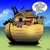 Cartoon: Couples only (small) by toons tagged couples,only,cruise,noahs,ark,zoo,animals,god,swingers