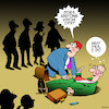 Cartoon: CPR Cartoon (small) by toons tagged resuscitation,cpr,heart,attack,collapse,health,risk,ambulance,emergency,services