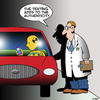 Cartoon: Crash test dummy (small) by toons tagged texting,while,driving,crash,test,dummy,sms,messaging,dangerous,auto,accident