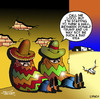 Cartoon: Donald Trumps wall (small) by toons tagged donald,trump,mexican,wall,siesta,the,mexico