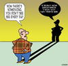 Cartoon: Everyday (small) by toons tagged shadows,bizarre,reflections