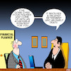Cartoon: Financial advisor (small) by toons tagged fnancial,planner,financial,advice,delay,retirement,ageing,savings