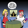 Cartoon: Friend request (small) by toons tagged beer,facebook,friends,friend,requests