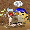 Cartoon: graffiti (small) by toons tagged graffiti,caveman,prehistoric,cave,art,wall,paintings,dinosaurs,ice,age,stone,animals