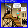 Cartoon: Guillotine (small) by toons tagged court,jester,beheaded,guillotine,witty,comments,last,words
