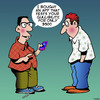 Cartoon: Gullible (small) by toons tagged apps,gullible,gullibility,smart,phones,iphone