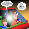 Cartoon: Help the environment (small) by toons tagged environment,cyclist,earth,hour,road,accident,environmental,protection
