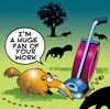 Cartoon: Huge fan (small) by toons tagged anteater animals vacume cleaner broom ants sucking big fan kitchen appliance hoover carpet