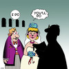 Cartoon: I do (small) by toons tagged weddings,average,bride