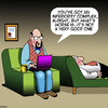 Cartoon: Inferiority complex (small) by toons tagged inferiority,complex,shyness