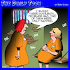 Cartoon: Jail time (small) by toons tagged prison,jail,murder,husbands,womans,manslaughter