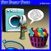 Cartoon: Lost socks (small) by toons tagged socks,lost,sock,dryer,military,action,and,found