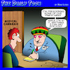 Cartoon: Medical cannabis (small) by toons tagged marijuana,medical,dope,doctors