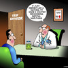Cartoon: Medical marijuana (small) by toons tagged trip,advisor,medical,marijuana,drugs,physician,travel,guides,tripping