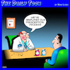 Cartoon: Medical prescriptions (small) by toons tagged doctor,prescriptions,smiley,face,uppers,downers