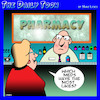 Cartoon: Meds (small) by toons tagged medications,facebook,likes,pharmacy,chemist,drugs,meds