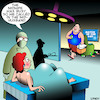 Cartoon: Midwife (small) by toons tagged midwife,midhusband,maternity,delivery,room,pregnant,giving,birth