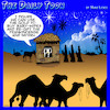 Cartoon: Nativity scene (small) by toons tagged re,gifting,three,wise,men